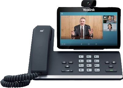 Yealink SIP-T58V Video GbE Desktop IP Phone by BaronTEL